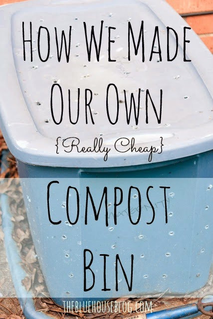 How We Made Our Own Compost Bin.
