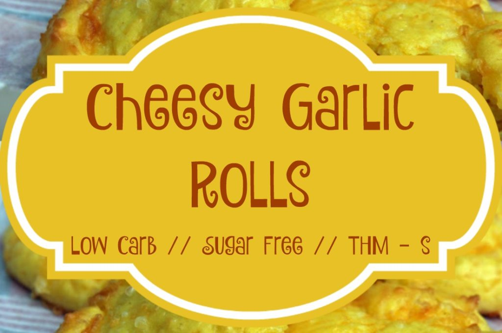 {THM Style} Low-Carb Cheesy Garlic Rolls