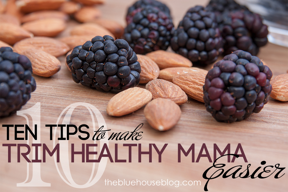 10 Tips to Make Trim Healthy Mama Easier.