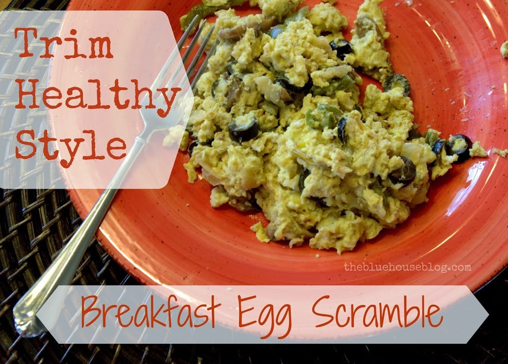 {Trim Healthy Style} Breakfast Egg Scramble {and a Shortcut!}