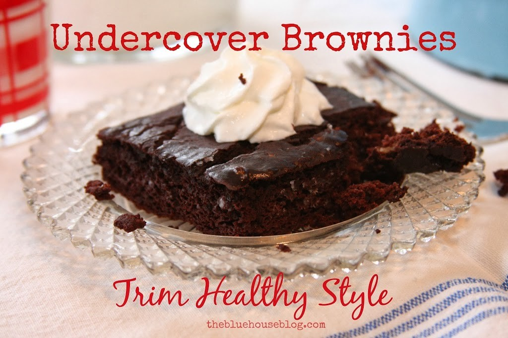 {Trim Healthy Style} Undercover Brownies.