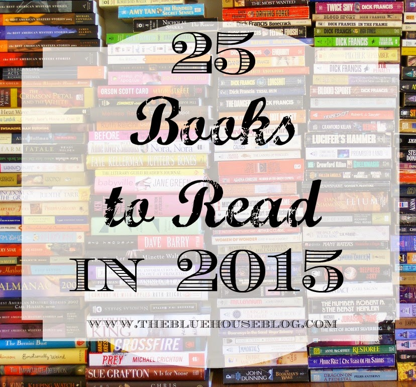 25 Books to Read in 2015.