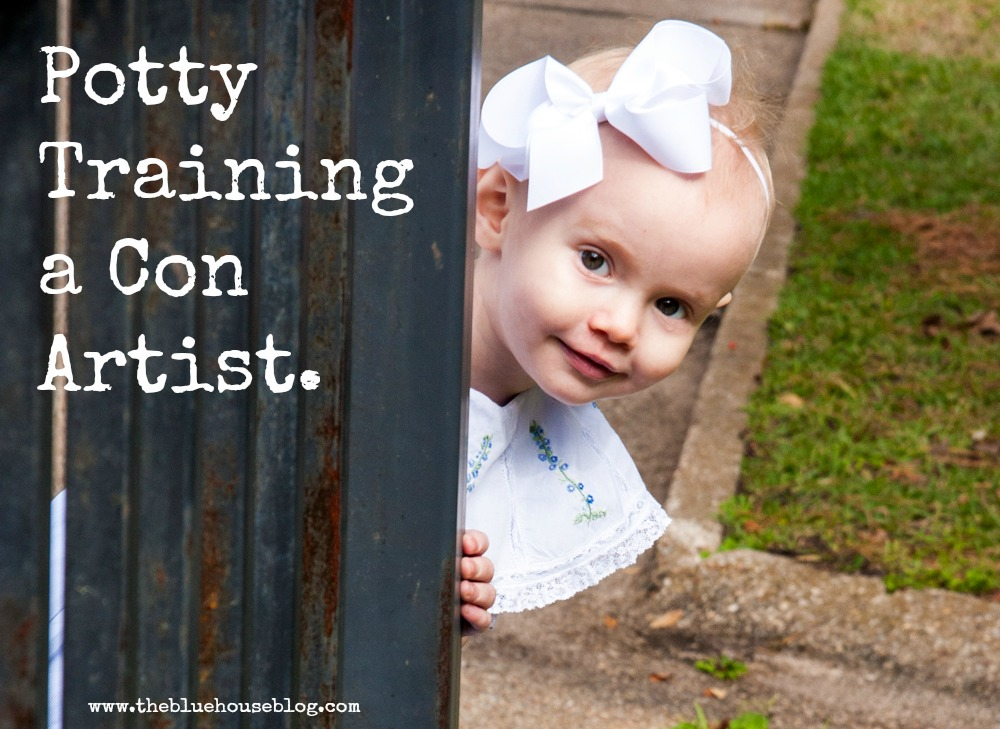 Potty Training a Con Artist.